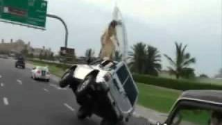 DUBAI CAR RACING - YouTube.flv