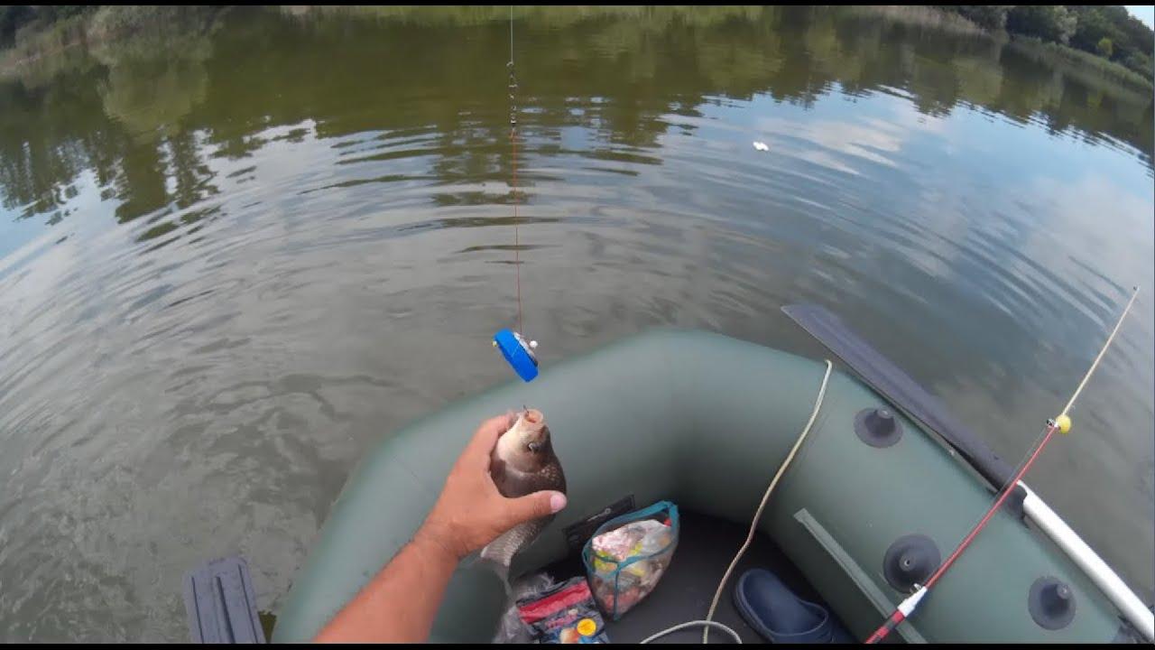 Удочка для ловли карася с лодки