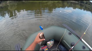 Ловля карася с лодки на пробку ( дальний заброс ).(В этом видео я ловлю карася с лодки. Практически все поклёвки были засняты и показаны ( кроме холостых )., 2016-06-20T12:18:04.000Z)