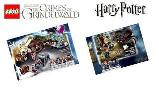 Лего Гарри Поттер 2018 и Фантастические Твари 2 ИЗОБРАЖЕНИЯ | Lego Harry Potter and Fantastic Beasts