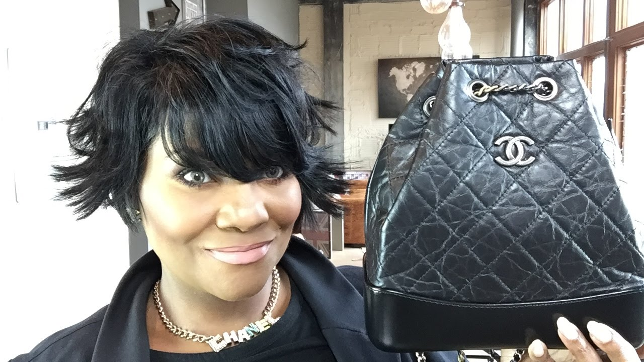 5815c3dc4522 CHANEL GABRIELLE BACKPACK WEAR AND TEAR UPDATE!!!!! - YouTube
