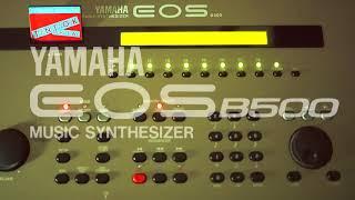 【YAMAHA EOS B500】 TK6  - demo演奏【TMネットワーク】
