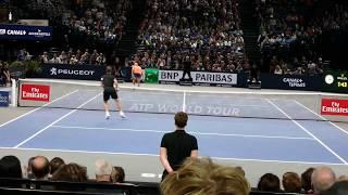 Richard Gasquet vs Jack Sock - Court level view