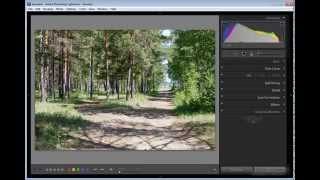 Lightroom 3 Видео урок о Гистограмме