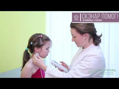Лечение скэнаром крапивницы у ребенка