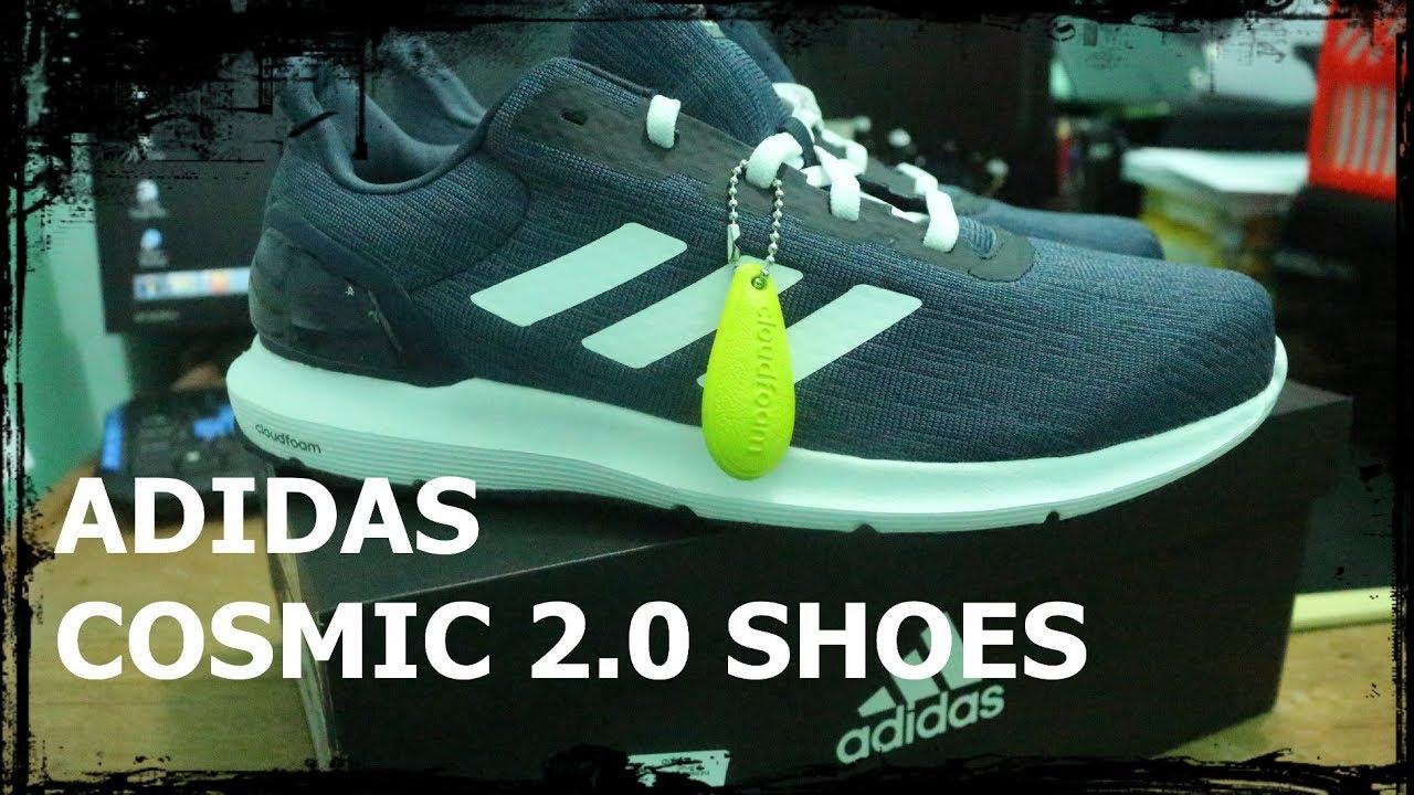 422c434c3a989 Unboxing Adidas Cosmic 2.0 Shoes Running - Sepatu Lari (Review Indonesia)