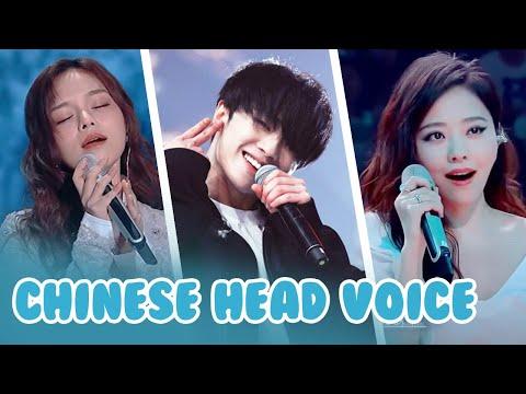 Best Chinese Head Voice Vocals  Huang Xiaoyun, Jane Zhang, Hua Chenyu,, Gong Linna...