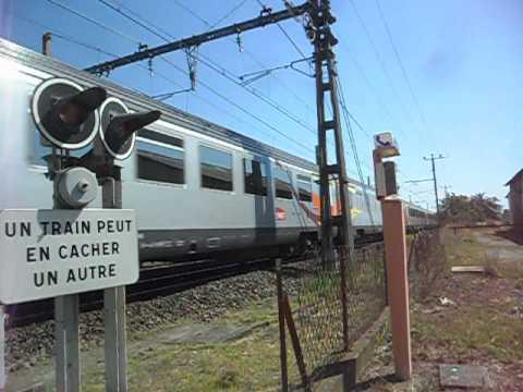 Passage Train Pélérin Lourdes-Brest