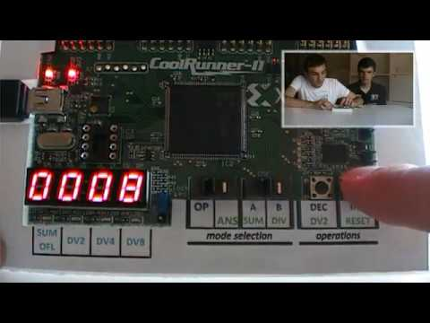 Xilinx CoolRunner-II CPLD - a simple project