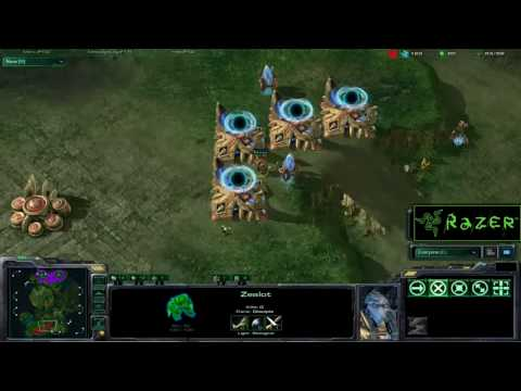 VC: IdrA vs Tester: King of the WoL throwback classic game