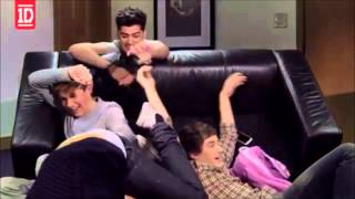 One Direction Falling/tackling/wrestling moments 1