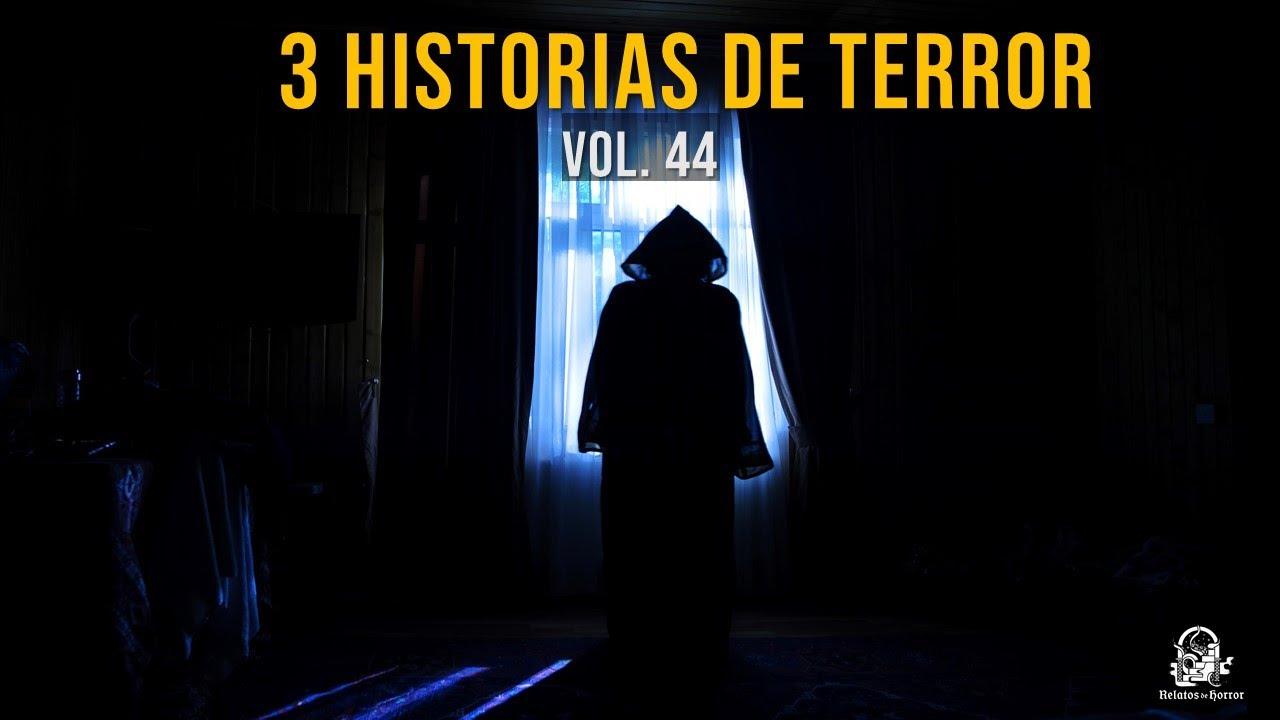 3 Historias De Terror Vol. 44 (Relatos De Horror)