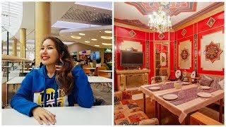 Kazakistan'da bir TÜRK Restoranına GİDİP 3000 Tenge Hesap Ödedik!!