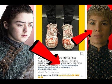 Tötet Arya Cersei & wird Königin ► Teaser Theorie ► Maisie Williams Post ► Game of Thrones Staffel 8