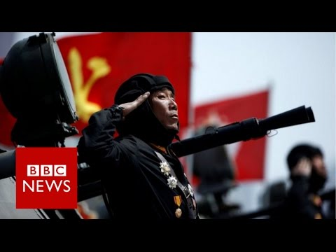 Thumbnail: North Korea's military parade - BBC News