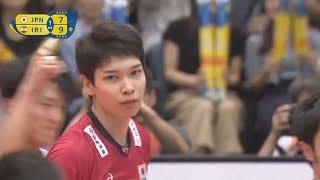 Akihiro Yamauchi 山内晶大 Highlights VS Iran ( FIVB World Grand Champions Cup 2017)