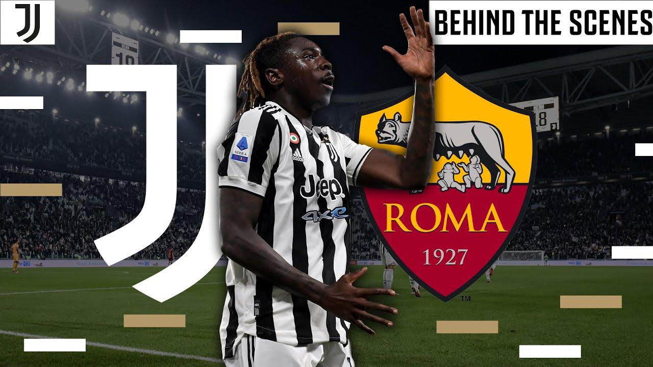 Unique Angles of Juventus win over Roma  Juventus vs Roma  Inside Allianz Stadium