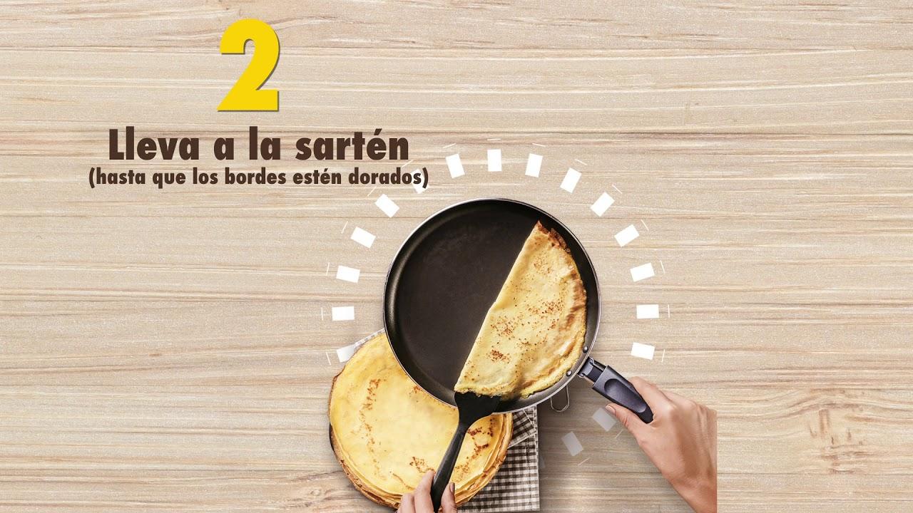 Receta Pancakes Corona Repostería