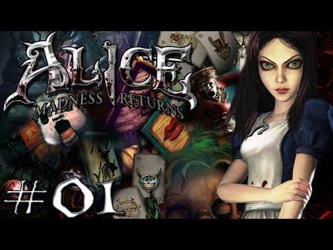 Alice - Madness Returns #01 Die Therapie beginnt! [Blind] - Alice Madness Returns Let's Play