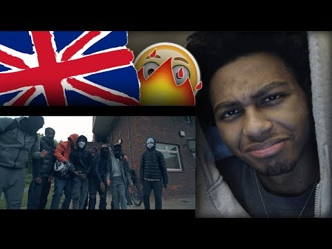 AMERICAN FIRST REACTION TO UK RAP DRILL/GRIME (PART 14) Ft. SL, NitoNB, Digga D, Russ & MORE!