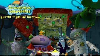 SpongeBob Battle for Bikini Bottom All Bosses