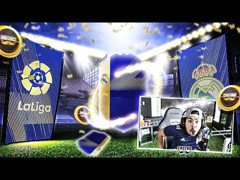 I PACKED MY BEST LA LIGA TOTS FIFA 18