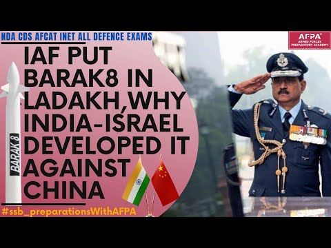 Barak 8 to be deployed on India China border amid India Chin