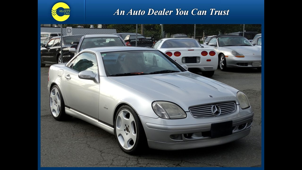 1999 mercedes benz slk230 kompressor roadster for sale in for 1999 mercedes benz slk 230 kompressor