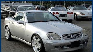 1999 Mercedes-Benz SLK230 Kompressor Roadster for sale in Vancouver