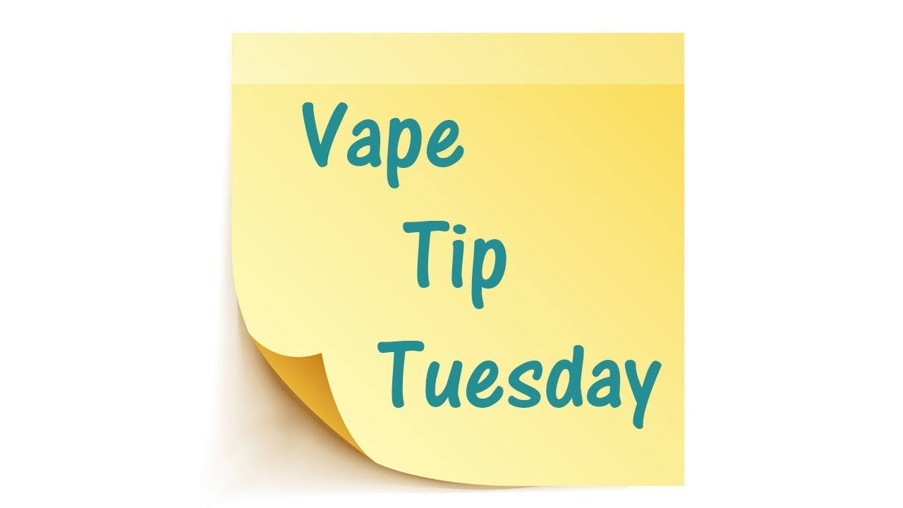 VAPE TIP TUESDAY | JUUL SPIT BACK? TRY THIS!!