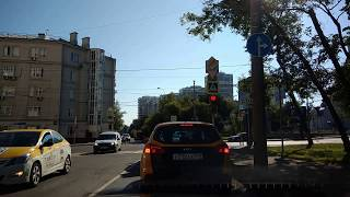 . Москва. 31.07.2018. Поездка на автомобиле по городу