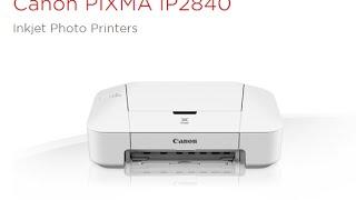 Canon PIXMA iP2840 driver Mac Win Linux