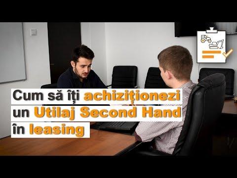 Leasing Utilaje Second Hand - Ce trebuie sa stii cand iti cumperi un utilaj in leasing