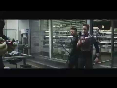 Mark 85 Suit Up Scene In Slow Motion