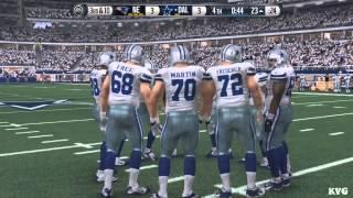 Madden NFL 16 - New England Patriots vs Dallas Cowboys Gameplay (XboxONE HD) [1080p]