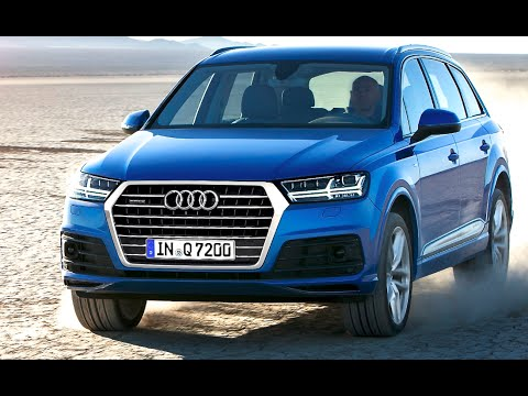 audi q7 2016 all new first commercial audi q7 price 50k. Black Bedroom Furniture Sets. Home Design Ideas