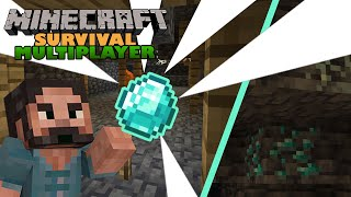 Minecraft Survival Multiplayer ⛏   Mega Caving Episode!   1.17 Let's Play   EP05