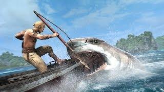 Assassin's creed 4 Black Flag | Подводный мир - Акула