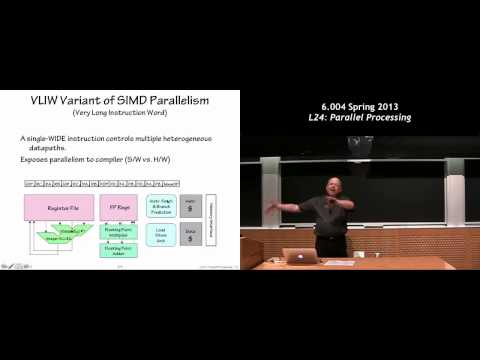 MIT 6.004 L24: Parallel Processing