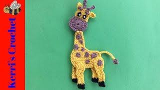Crochet Giraffe Tutorial