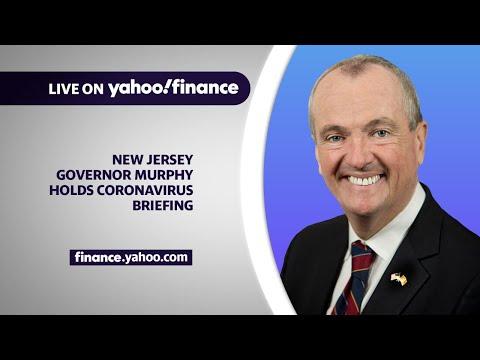 NJ Governor Murphy delivers latest update on coronavirus