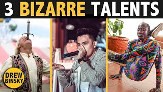 3 BIZARRE TALENTS Around the World
