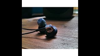Yamaha EPH-50 in-ear headphones SPL dB sound test + quick review