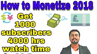 Monetize & Gain 1000 Subscribers & 4000 Hrs watch time in 30 days in valid ways | #YT Creator Talk 1