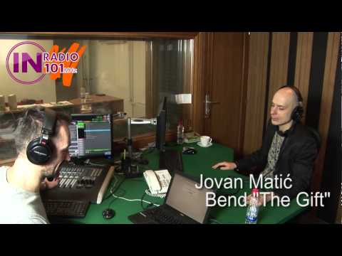 "IN Radio ""Tvojih 5 minuta"" gost: Jovan Matić - bend ""The Gift"""