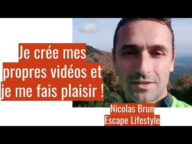 Témoignage : Nicolas Brun, dirigeant d'Escape Lifestyle