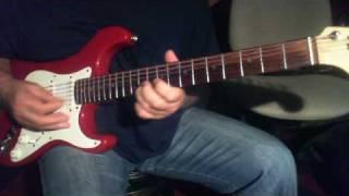 Pal Pal Dil Kay Paas...On Electric Guitar with Karaoke