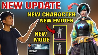 FREE FIRE || NEW ADVANCE SERVER NEW CHARACTER STEFI , NEW EMOTES ,NEW MODES  || FULL NEW UPDATE