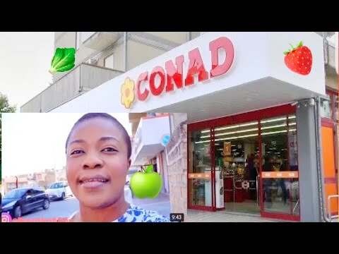 COME WITH ME!!! CONAD SUPERMARKET NEAR ME #VLOG4 | CONAD | BEAUTYBYCHINNY
