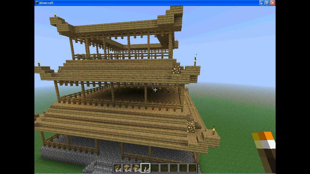 MINECRAFT Tuto Construction d un temple ep 3